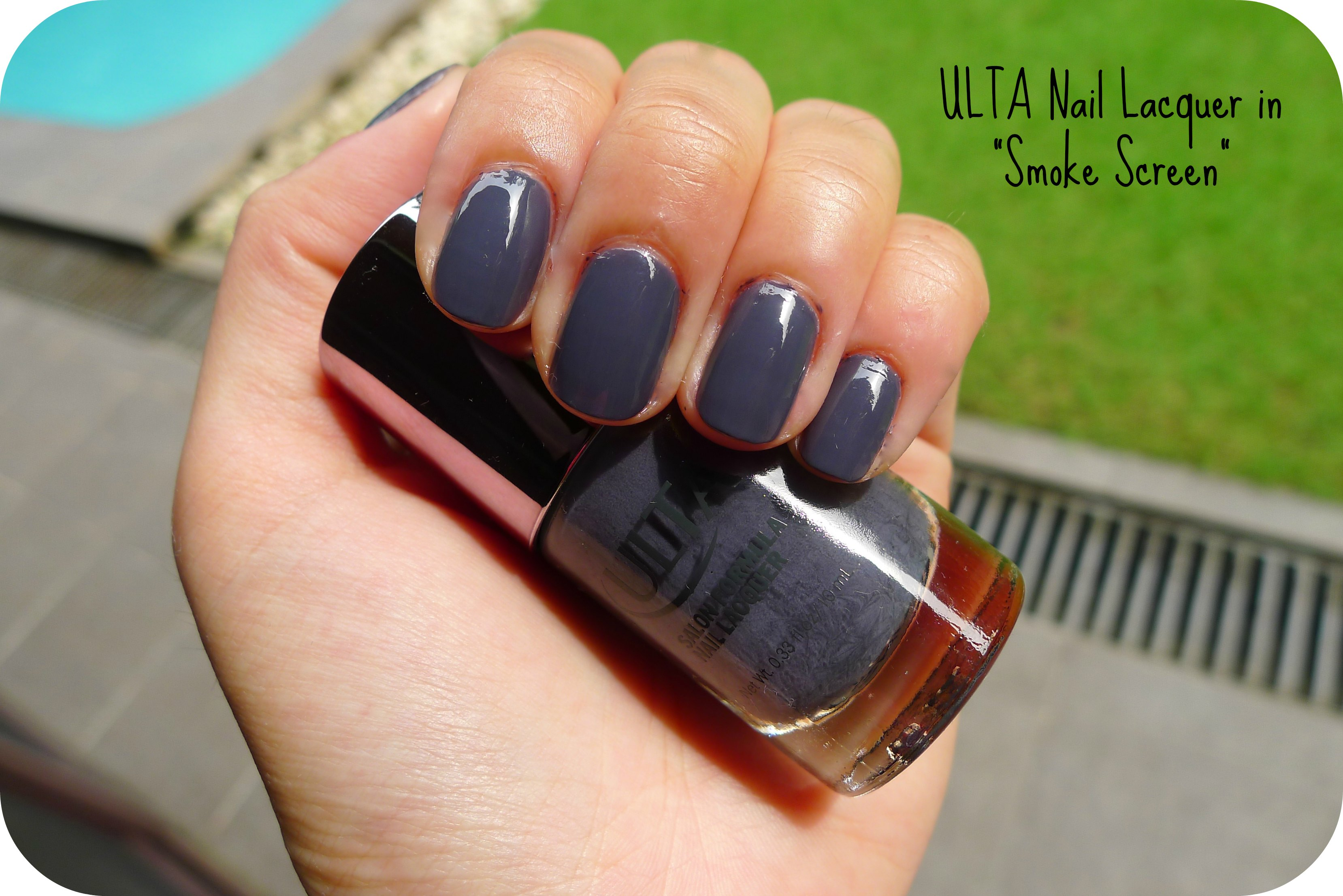 "Add Some Flair to Your Life — ULTA Nail Lacquer in ""Smoke Screen ..."